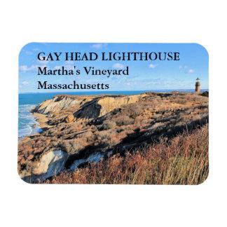 Magnet Flexible Phare principal gai, Martha's Vineyard mA