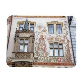 Magnet Flexible Photo de souvenir de Prague de Chambre de Storch