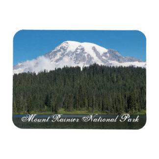 Magnet Flexible Photo de voyage de parc national de mont Rainier