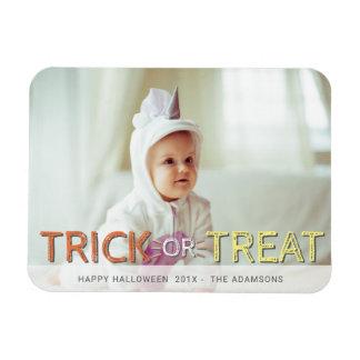 Magnet Flexible Photo moderne Halloween de des bonbons ou un sort