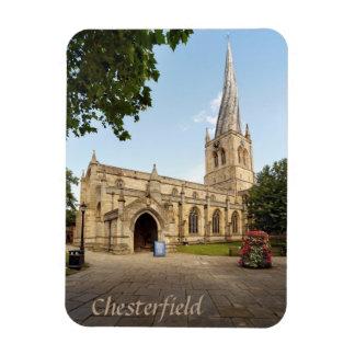 Magnet Flexible Photo tordue de souvenir de flèche de Chesterfield