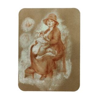 Magnet Flexible Pierre une maternité de Renoir  