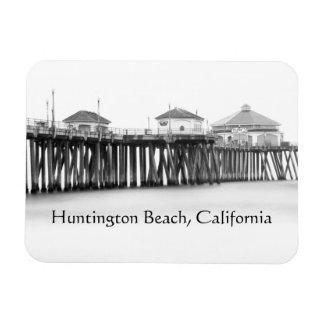 Magnet Flexible Pilier de Huntington Beach, la Californie