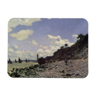 Magnet Flexible Plage de Claude Monet | chez Honfleur, 1864