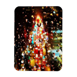 Magnet Flexible Pleuvoir la ville allume des vacances