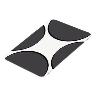 Magnet Flexible Point gris-foncé
