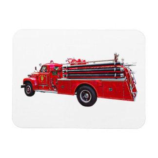 Magnet Flexible Pompe à incendie vintage d'ouvrier chargé des