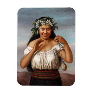 "Magnet Flexible ""Portrait de Terewai Horomona"" - G. Lindauer"