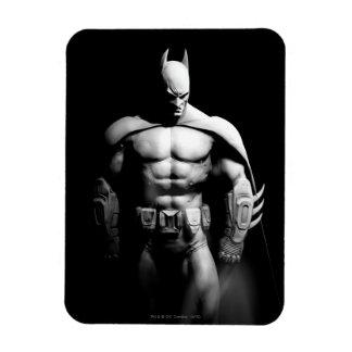 Magnet Flexible Pose large noire et blanche de la ville | Batman