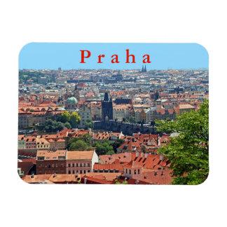 Magnet Flexible Prague. Pont de Charles et toits carrelés