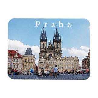 Magnet Flexible Prague. Vieilles place et église de Tyn