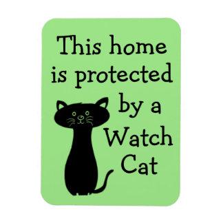 Magnet Flexible Prenez garde du chat de montre