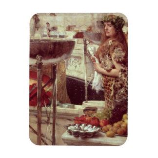 Magnet Flexible Préparations d'Alma-Tadema | dans le Colosseum,