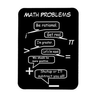 Magnet Flexible Problèmes de maths drôles
