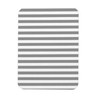 Magnet Flexible Rayures minces - blanc et gris