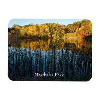 Magnet Flexible Réflexions d'automne de parc de Marthaler