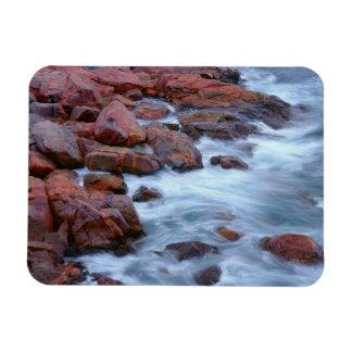 Magnet Flexible Rivage rocheux avec de l'eau, Canada
