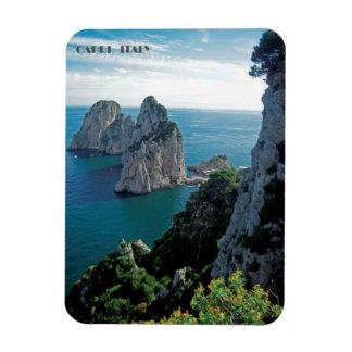 Magnet Flexible Roches de Faraglioni, île d'aimant de Capri