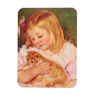 Magnet Flexible Sara et son aimant de photo de chaton
