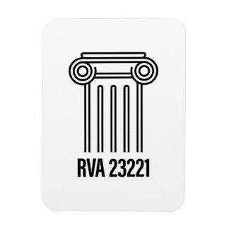 Magnet Flexible Secteur de musée, RVA 23221