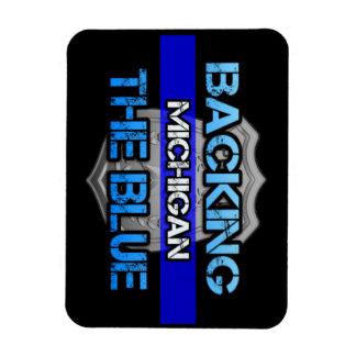 Magnet Flexible Soutien de l'aimant bleu du Michigan