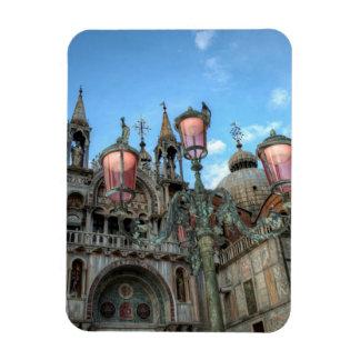 Magnet Flexible St Marques et lampe, Venise, Italie
