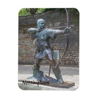 Magnet Flexible Statue de Robin Hood par la photo de château de