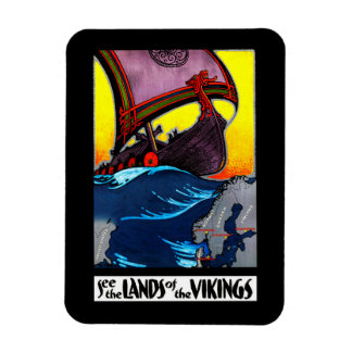 Magnet Flexible Terres de l'aimant de Vikings