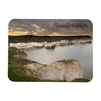 Magnet Flexible Tête de Flamborough et photo de souvenir de baie