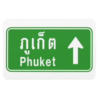 Magnet Flexible ⚠ thaïlandais de poteau de signalisation de route