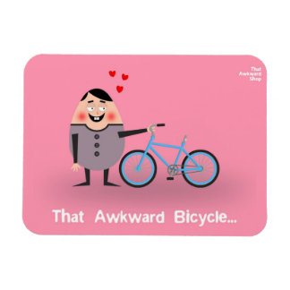 Magnet Flexible That Awkward Bicycle