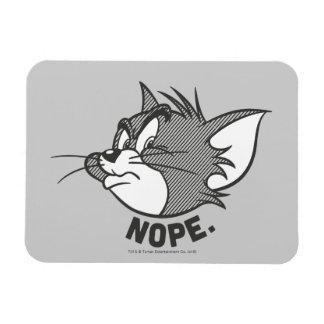 Magnet Flexible Tom et Jerry | Tom dit Nope