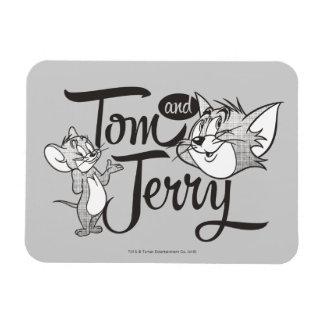 Magnet Flexible Tom et Jerry | Tom et Jerry semblant doux