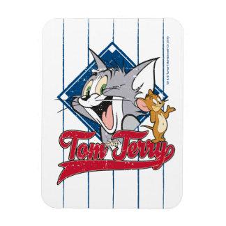 Magnet Flexible Tom et Jerry | Tom et Jerry sur le diamant de