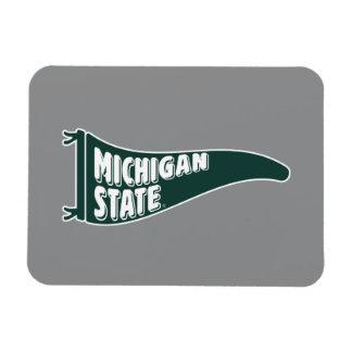 Magnet Flexible Université de l'Etat d'État du Michigan de MSU