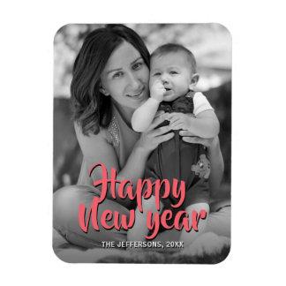 Magnet Flexible Vacances 2018 de salutation de photo de famille de
