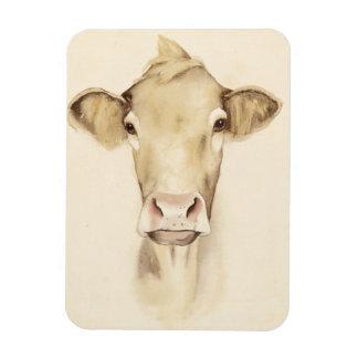 Magnet Flexible Vache aux animaux | de grange d'aquarelle
