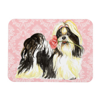 Magnet Flexible Valentine Shih rose Tzu
