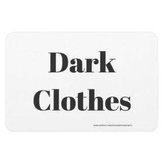 Magnet Flexible Vêtements foncés - adresse de w/website