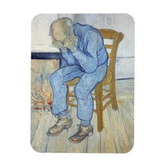 Magnet Flexible Vieil homme de Vincent van Gogh | dans la peine