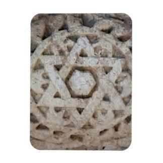Magnet Flexible Vieille étoile de David découpant, Israël