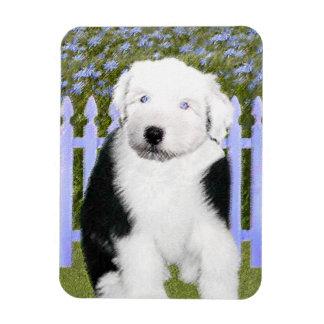 Magnet Flexible Vieux chien de berger anglais