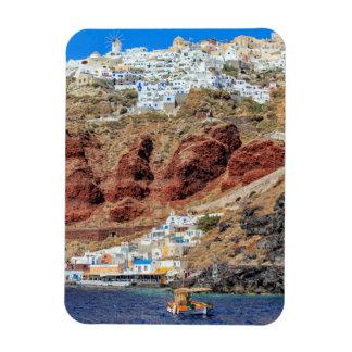 Magnet Flexible Village d'Oia sur l'île de Santorini, du nord,