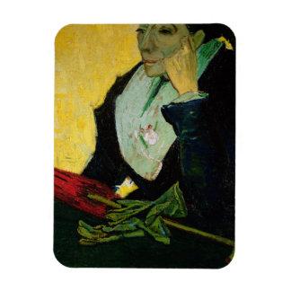 Magnet Flexible Vincent van Gogh | L'Arlesienne, détail, 1888