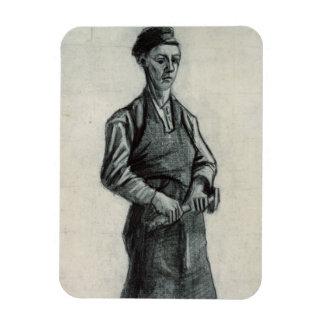 Magnet Flexible Vincent van Gogh | le jeune forgeron, 1882