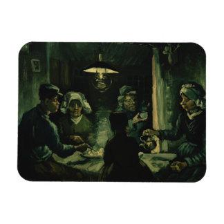 Magnet Flexible Vincent van Gogh - les mangeurs de pomme de terre