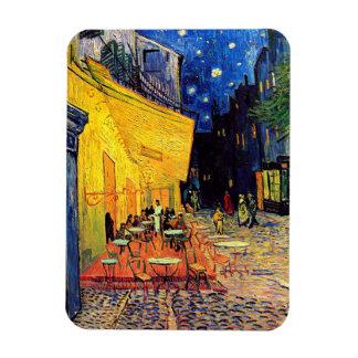 Magnet Flexible Vincent van Gogh - terrasse de café aux beaux-arts