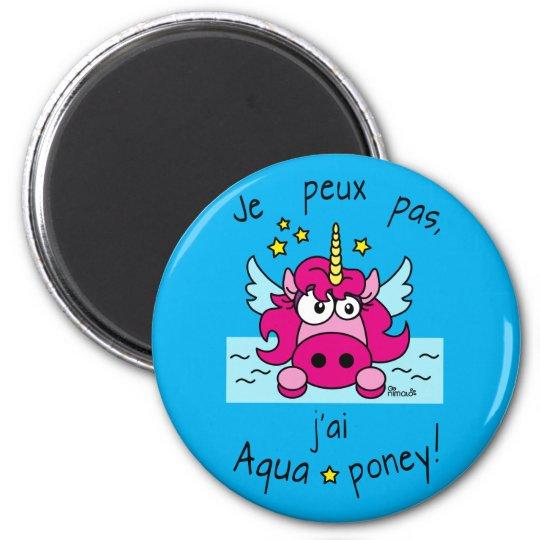 """Magnet """"Licorne, Aquaponey"""""""