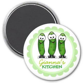 Magnet personnalisé de cuisine magnet rond 7,50 cm
