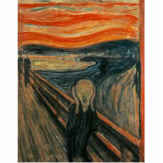 Magnet Photo Sculpture Le cri perçant par Edvard Munch